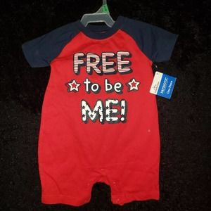 Independence Day Romper July 4th 6-9M NWT